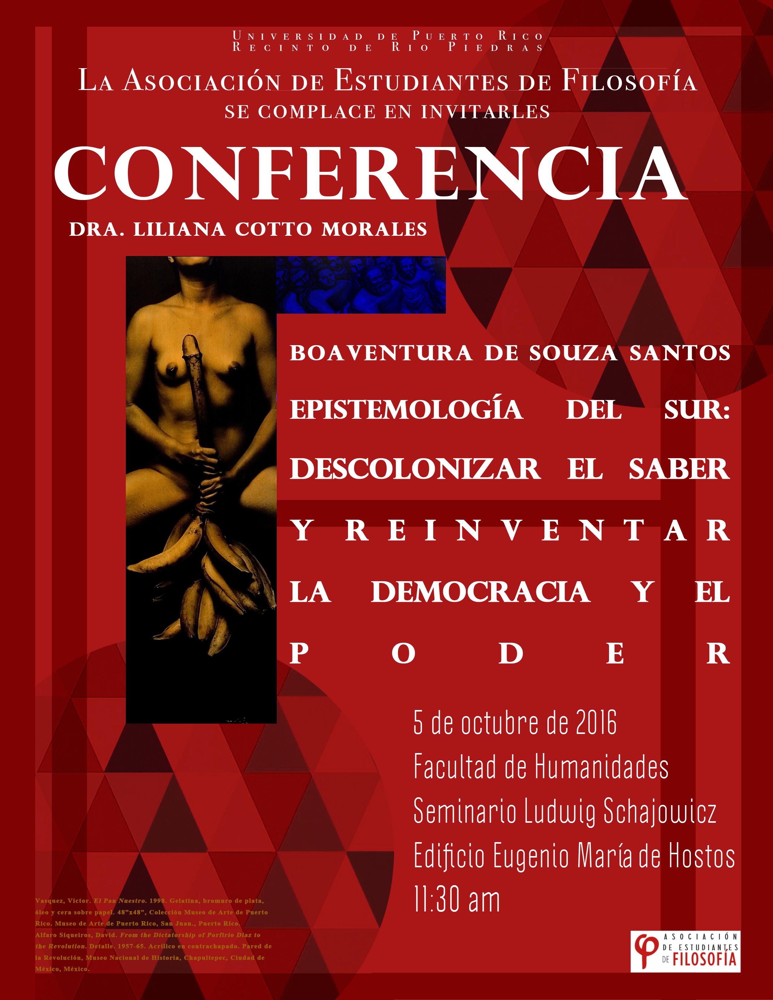 Promoción conferencia
